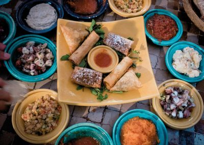 Moroccan Family Delicious Food Tajine Morocco Tours & Excursions
