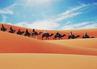 Morocco Sahara Desert Camel Trekking