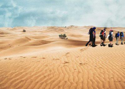 Morocco Sahara Desert Trekking